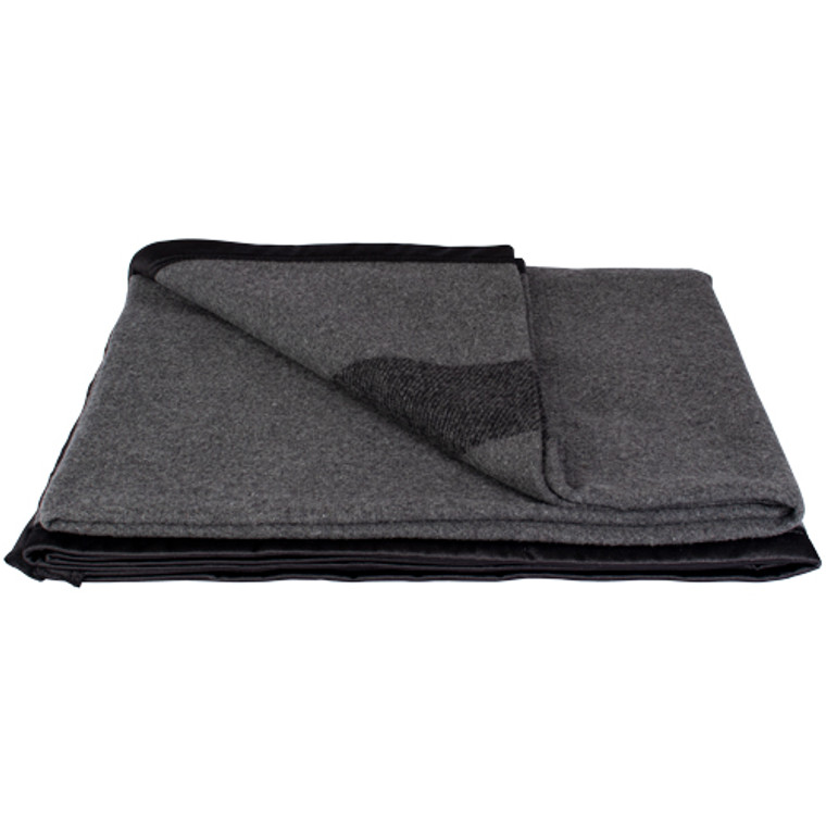 Fox German Army Style Wool Blanket