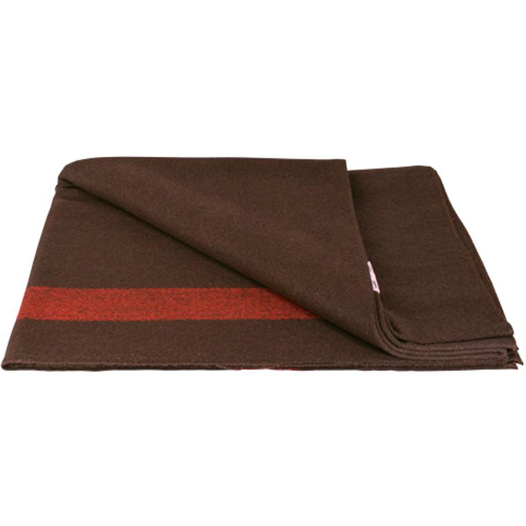 Fox Swiss Army Style Wool Blanket