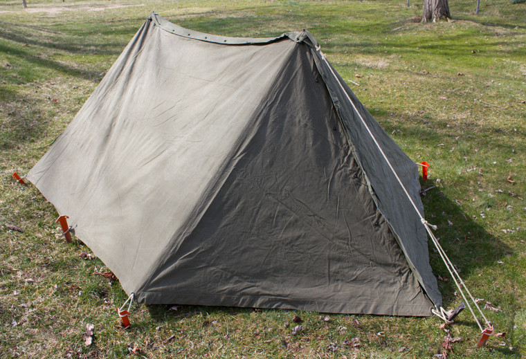 US Army Pup Tent Shelter Halves