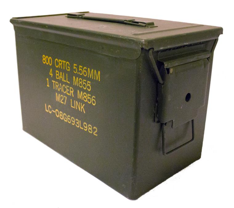 Fat 50 Caliber Ammo Can (SAW Box)