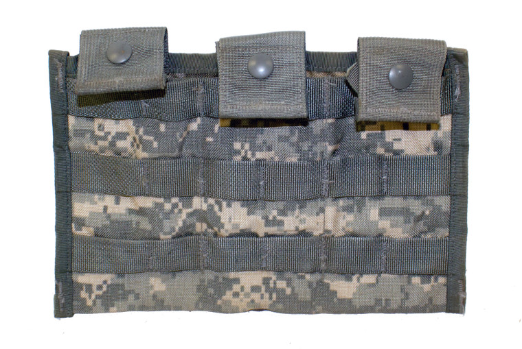 M4 3-Mag Side by Side Pouch (ACU Digital)