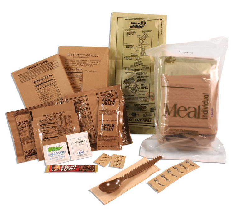 Sopakco Individual Complete Meal Ready to Eat (MRE)