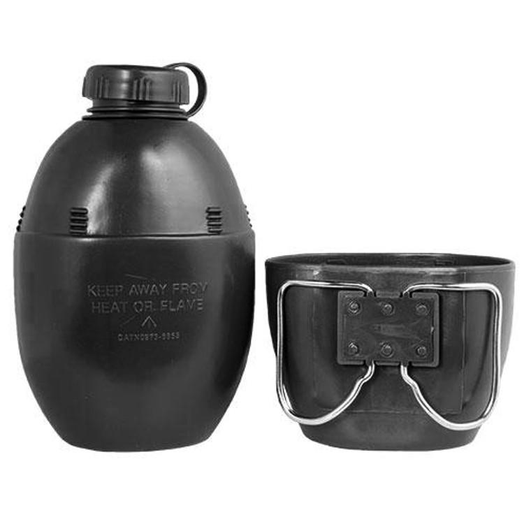 British Style Water Bottle and Mug Set