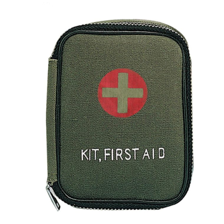 Rothco Zipper Military First Aid Kit Pouch