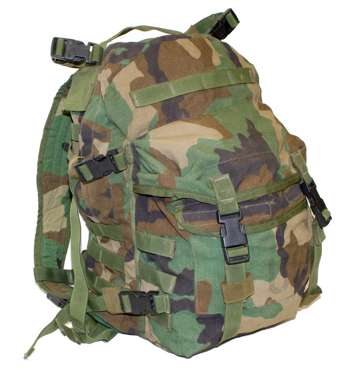 MOLLE Assault Pack (Woodland)