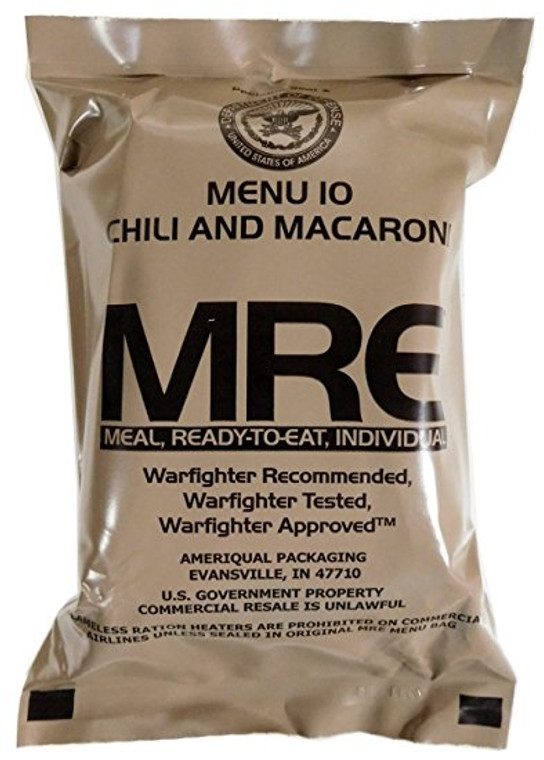 Military Complete Meal Ready to Eat (MRE)