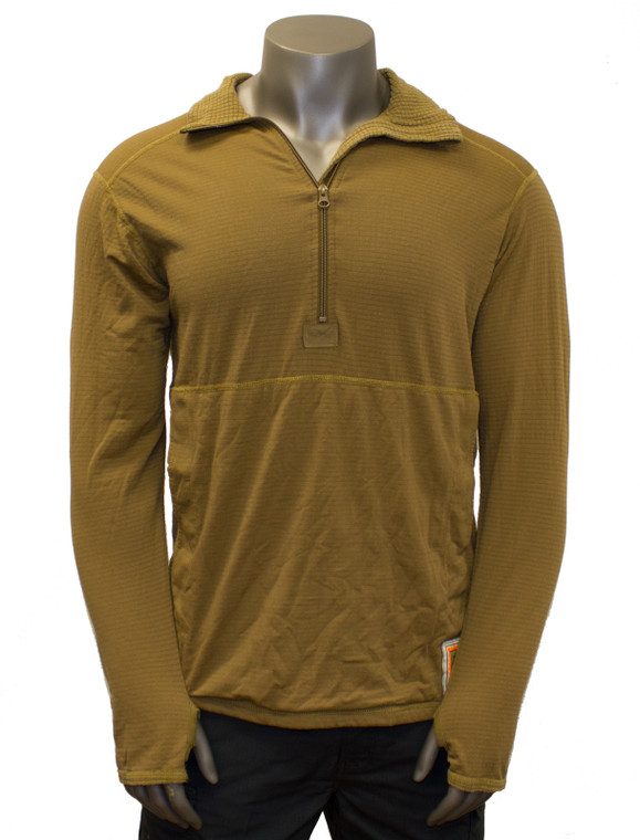 USMC Polartec Grid Fleece 1/2 Zip Shirt