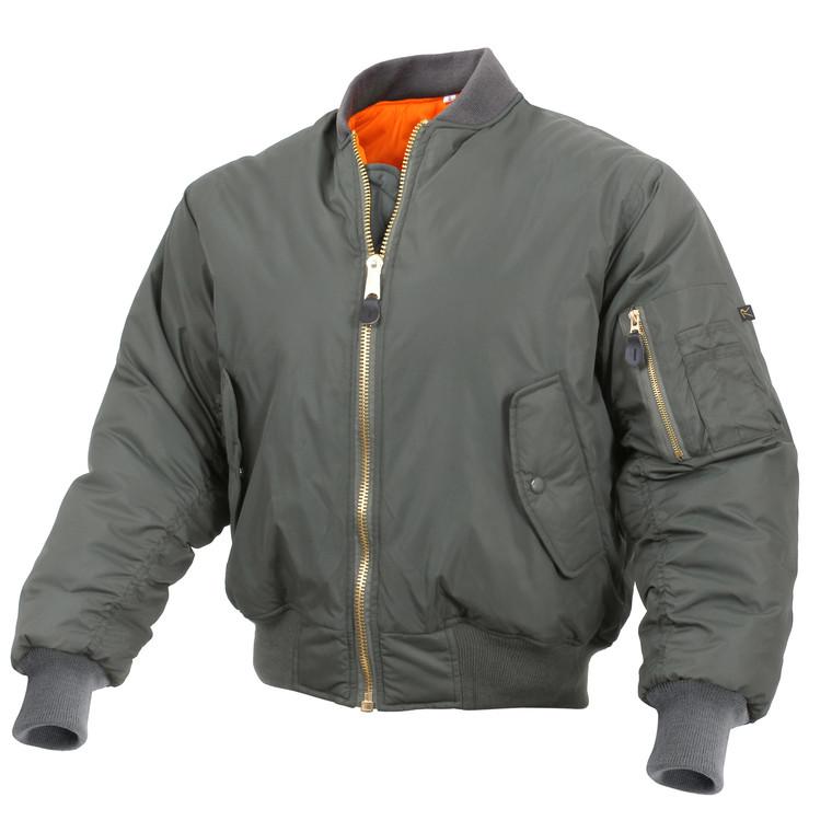 Rothco Enhanced Nylon MA-1 Flight Jacket