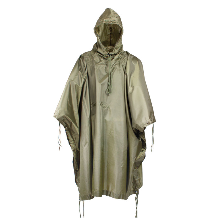 Red Rock Ripstop Nylon Poncho