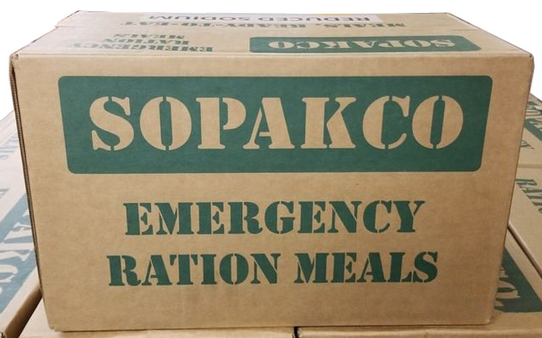 Sopakco MRE Case of 14 Reduced Sodium Meals