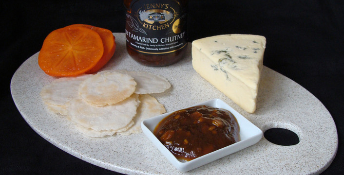 Jenny's Tamarind Chutney and Cheese - a match made in heaven