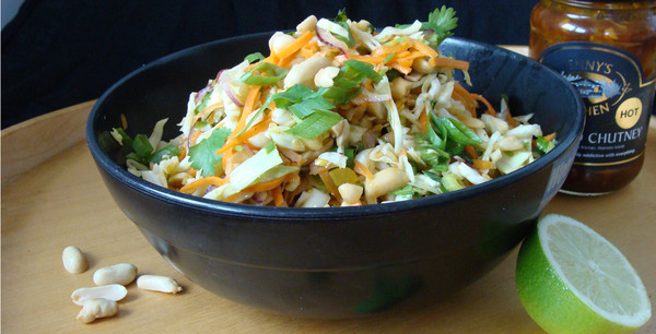 Asian Peanut & Tamarind Slaw