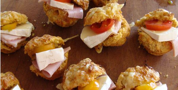 Tamarind Chutney Mini Muffins