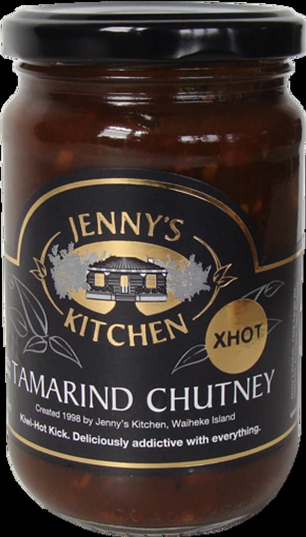 NZ Chutney   Tamarind Jenny's Kitchen   300ml X-Hot