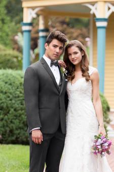 Michael Kors Steel Grey Sterling Wedding Suit Style J 392