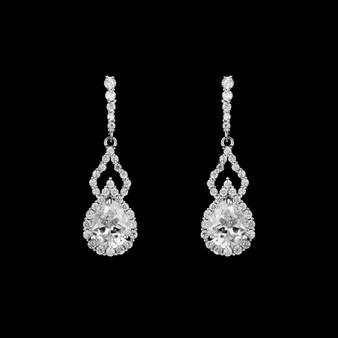 Jill CZ Earrings me 3616 $29