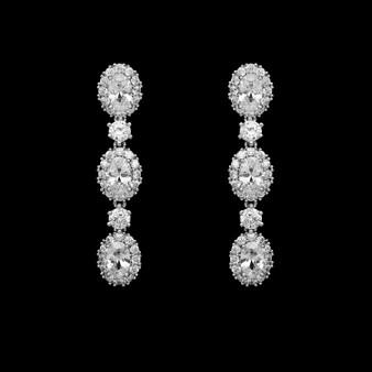 Jill CZ  Earrings E 4717 $39