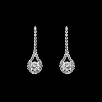 Jill CZ earrings JS 0401 $29