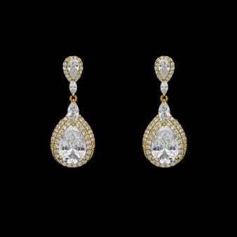 Jill CZ Earrings EF  5175  $29