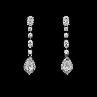 Jill CZ Earrings $39