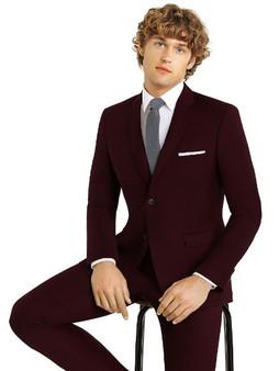 Couture Suit Burgundy C43Brg $189