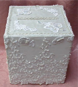 White Lace Box Rental
