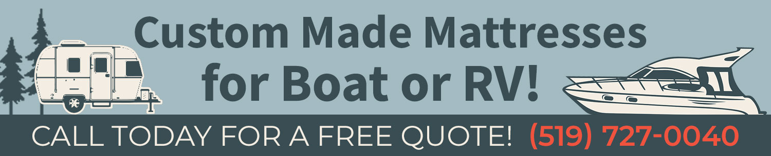 custom boat and rv mattresses