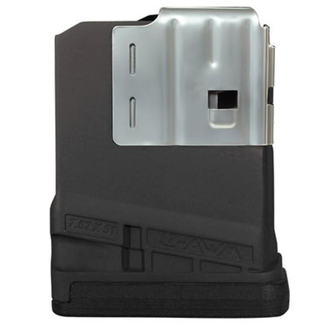 Lancer L7 AWM 10 Round .308 / 7.62x51 Magazine Opaque Black