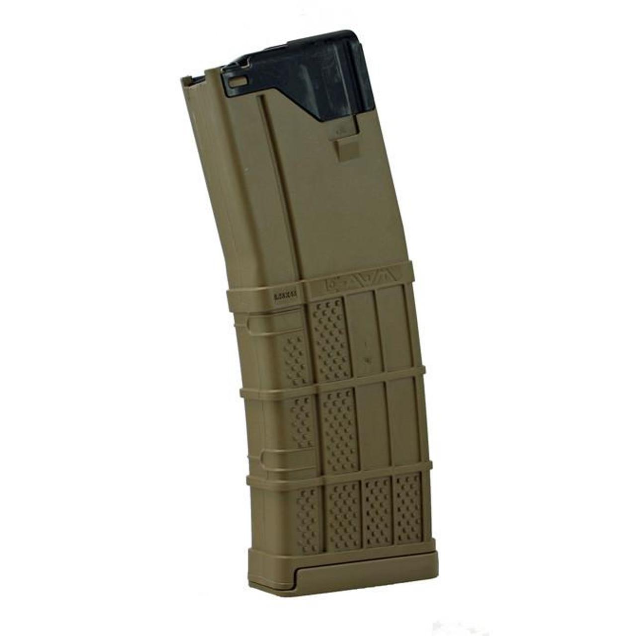 Lancer L5 AWM 30 Round .223/5.56 AR-15 Magazine FDE