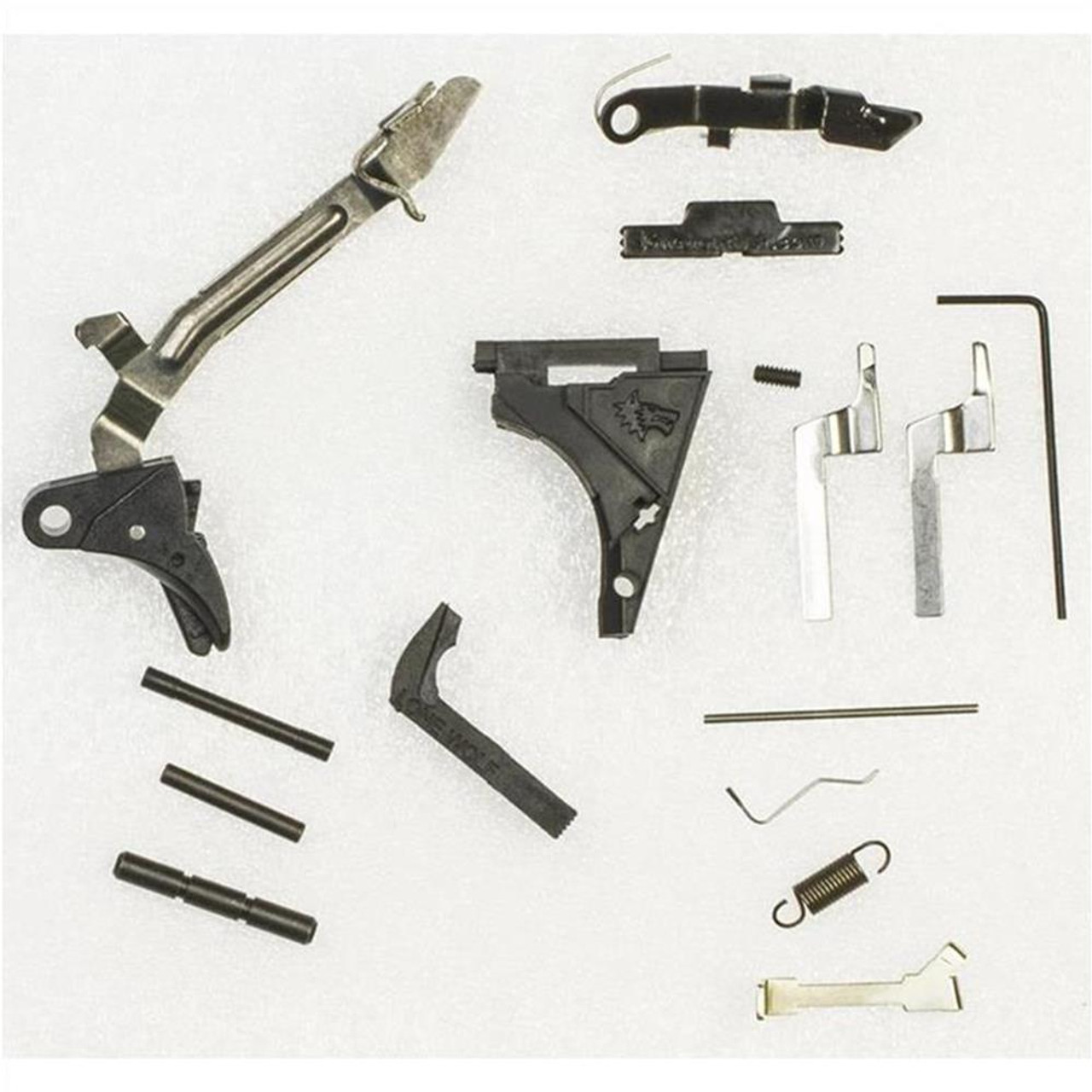 Lone Wolf Polymer80 PF940 Fullsize Lower Completion Kit 9mm,  40, and  357