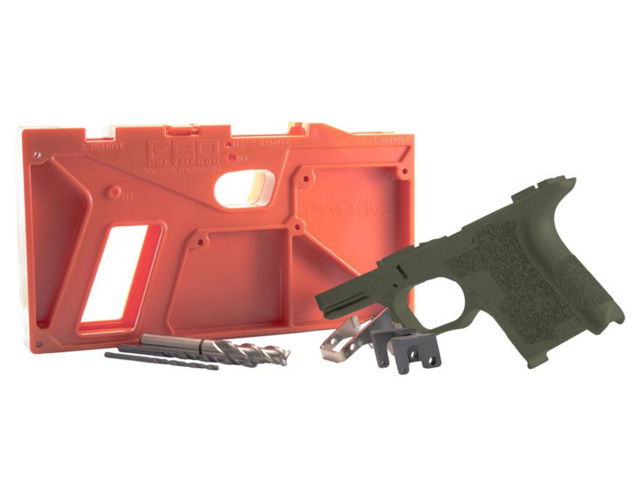 Polymer80 PF940SC  80% Subcompact Pistol Frame Kit GLOCK®  26/27 Compatible