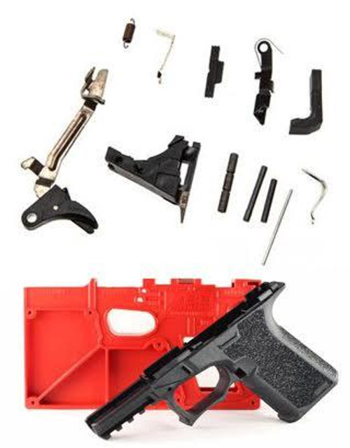 Package Deal Polymer80 PF940C Textured &  P80's New 9mm Lower Parts Kit