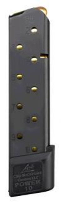Chip McCormick COMBAT POWER MAG™ 10RD Stainless Steel Magazine Black