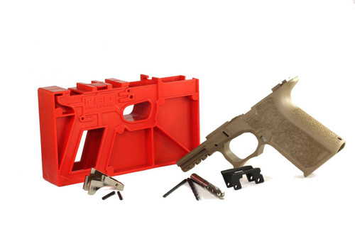 Polymer80 PF940Cv1 Colors 80% Compact Pistol Frame Kit  GLOCK®  19/23/32 Compatible