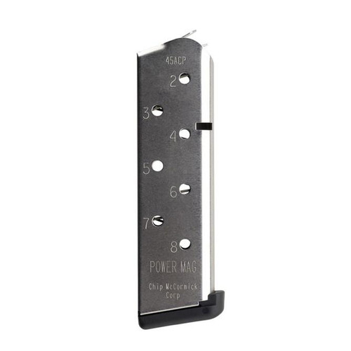 Chip McCormick POWER MAG™ 8RD Stainless Steel Magazine