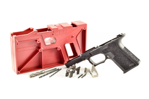 Package Deal Polymer80 PF940CL Compact Longslide 80% Pistol Frame Kit and OEM Glock 9mm Lower Parts Kit