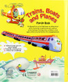 Trains, Boats and Planes Pop-Up Book