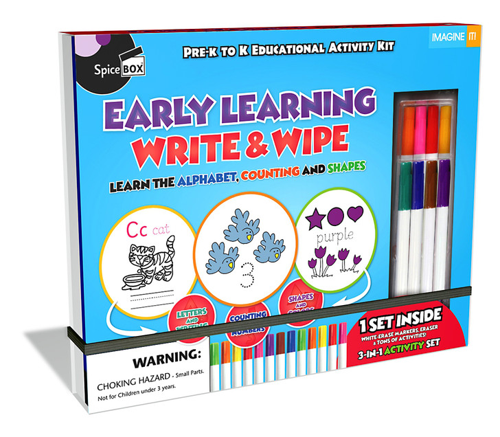EARLY LEARNING WRITE & WIPE (Imagine It 2.0)