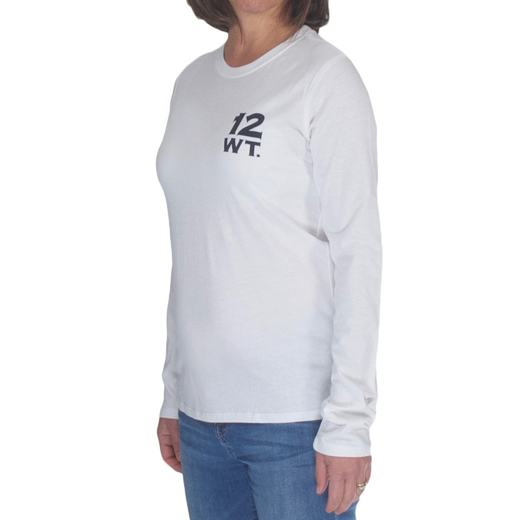 Women's Long Sleeve T-Shirt - 12wt Logo
