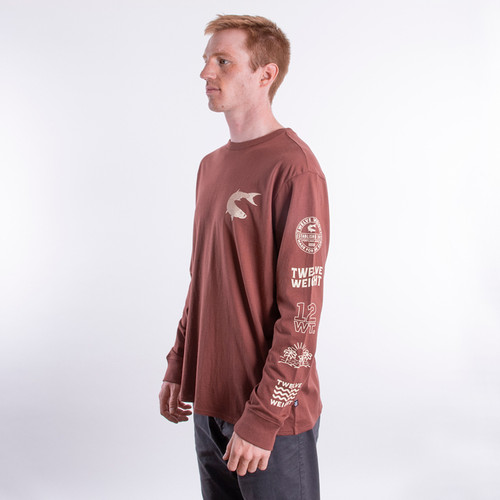 Long Sleeve T-Shirt - Multi-Logo