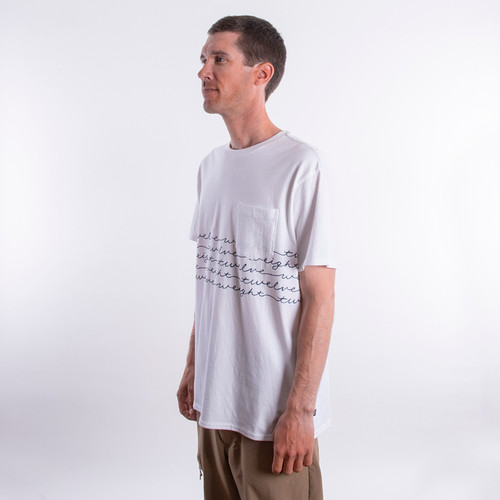 Short Sleeve Pocket T-Shirt - Script