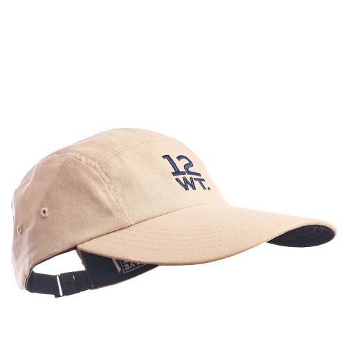 5 Panel Cotton/Linen Logo Hat