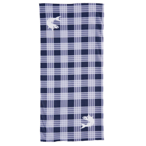 Sun Screen - Box Plaid Navy