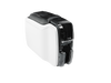 Zebra ZC100 Single Sided ID Card Printer side view