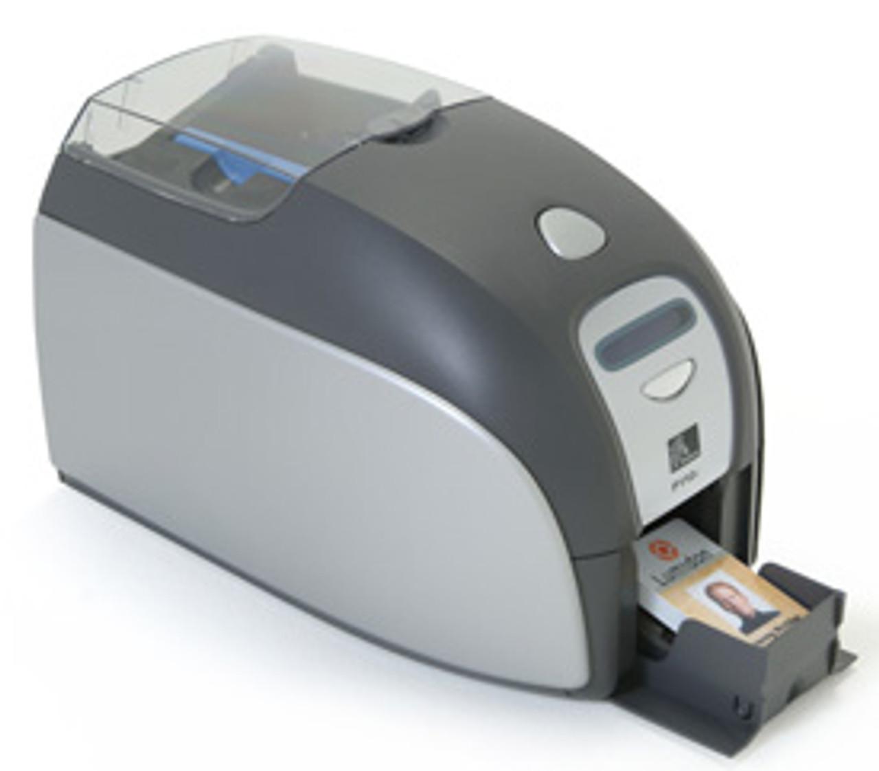 Zebra P110m Single Sided Mono Id Card Printer W Usb Mag Encoder Allid Com