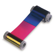 84056 Fargo YMCKH: Full-color ribbon w/ black & Heat Seal panel - 500