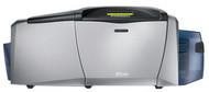 54107 Fargo DTC400e Dual-Sided Color ID Card Printer w/ Mag Encoder