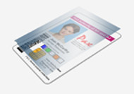 800015-013 Zebra Clear 1.0 Mil Laminate w/ Coverage for Smartcards