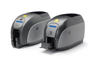 Zebra ZXP Series 1 Single-Sided Card Printer, USB, 10/10 Ethernet Monochrome Media Starter Kit