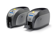 Zebra ZXP Series 1 Single-Sided Card Printer, USB, Ethernet, Magnetic Encoder and Color Media Kit